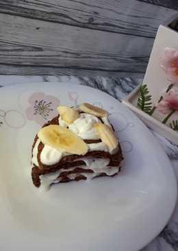 Шоколадно-творожный завтрак