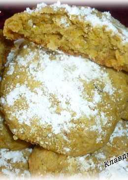 Тыквенно - овсяное печенье