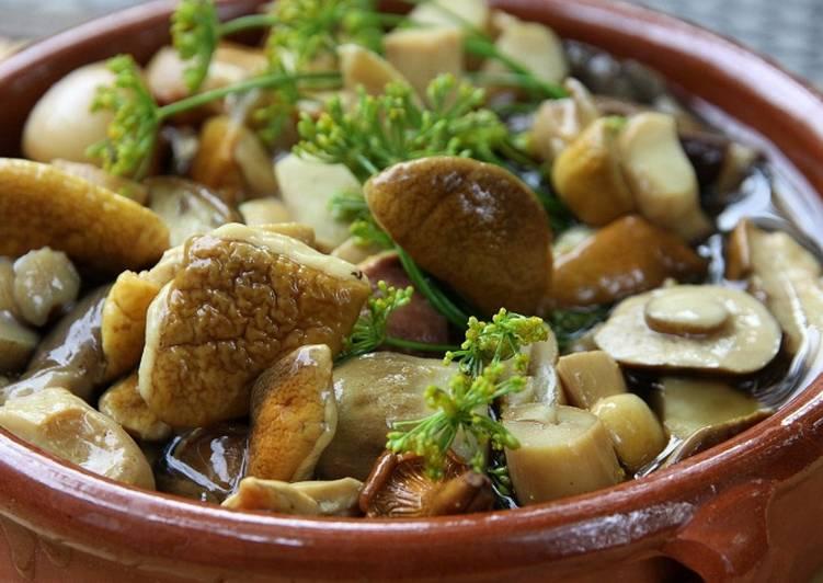 Белые грибы рецепты приготовления на зиму