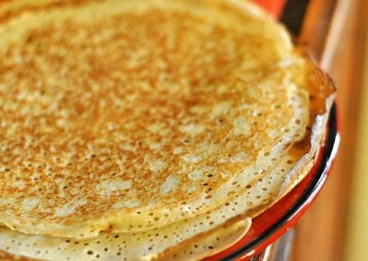 Рецепт блинов молоко нагреть 5