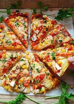 Кукурузная пицца