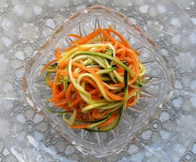 Овощное спагетти