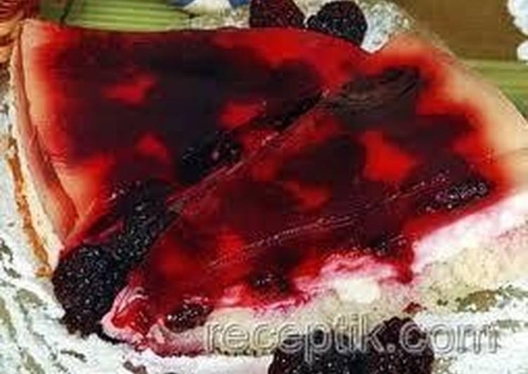 Ежевичные пирожные