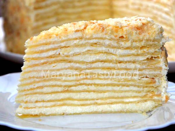 """Мой любимый классический торт """"Наполеон"""""""