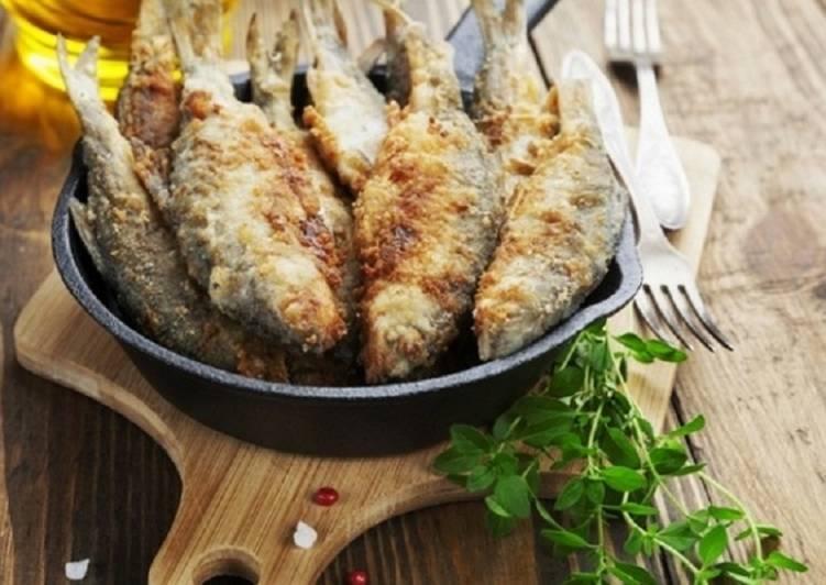 Рыба, жареная на сковороде - рецепт