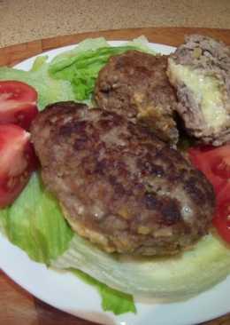 Зразы мясные с сыром и яйцом