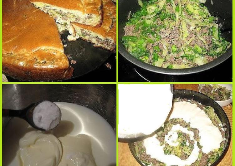 Пирог изумительный с капустой