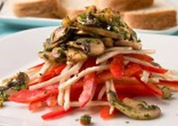 Грибной салат по-еревански