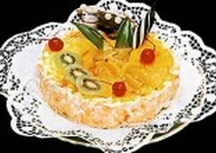 Торт «Софья» с фруктами