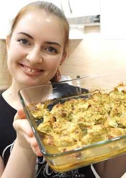 Куриное филе в йогурте и карри в духовке / ПП-рецепт
