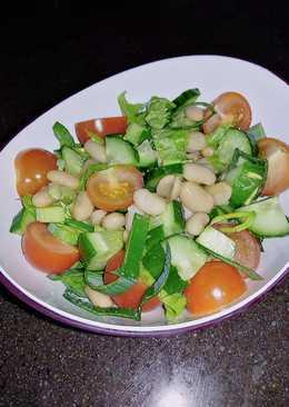 Быстрый салат с фасолью/ Metabolic balance