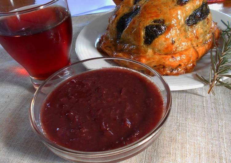 Соус на красном вине к мясу, классический рецепт