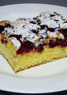 Пирог с вишней. Самый простой рецепт!!!