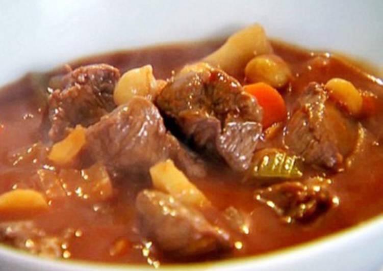 Домашнее жаркое из говядины по-украински