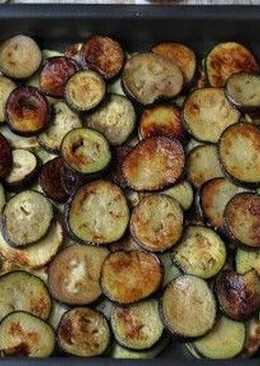 Новогодние овощи в духовке
