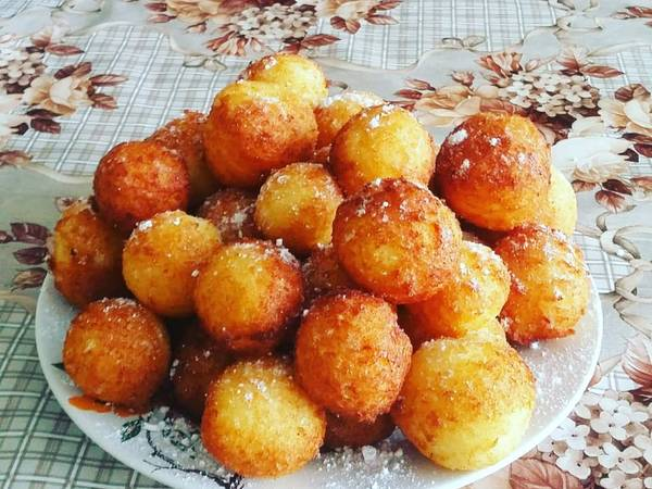 Абрикоски (творожные шарики)