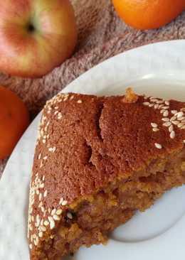 Деревенский тыквенный пирог