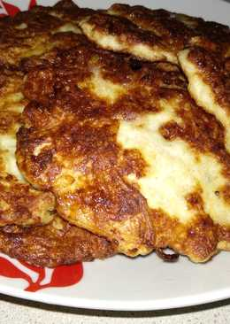 Картофельные драники с куриным фаршем