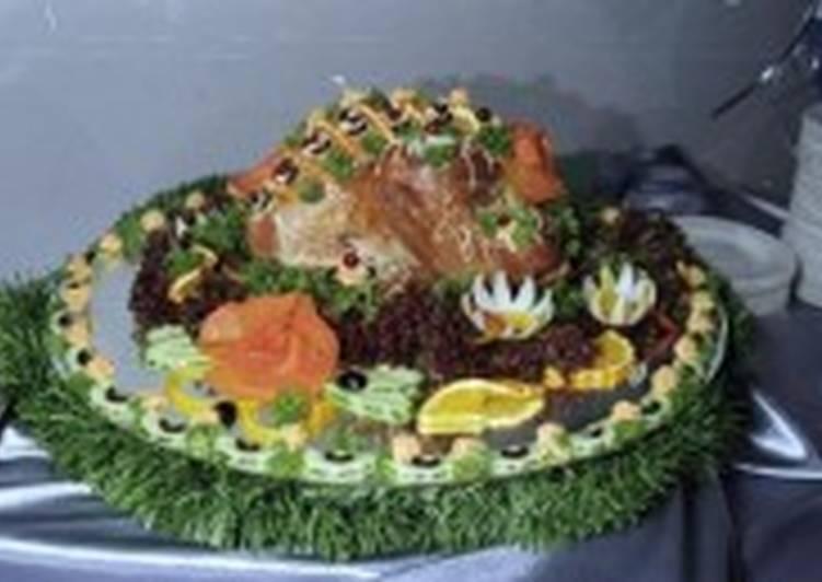 Барашек запеченный с овощами