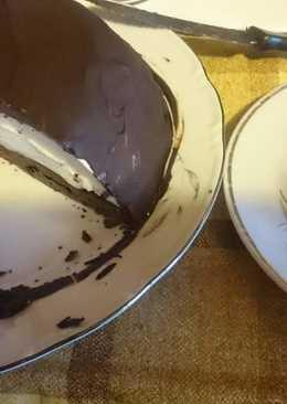 """Быстрый торт """"Птичье молоко"""" #кулинарныймарафон"""