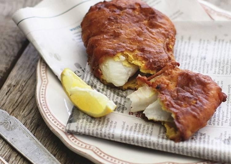 Кляр для рыбы - простой рецепт с майонезом