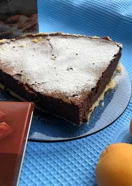 Тарт с шоколадным кремом