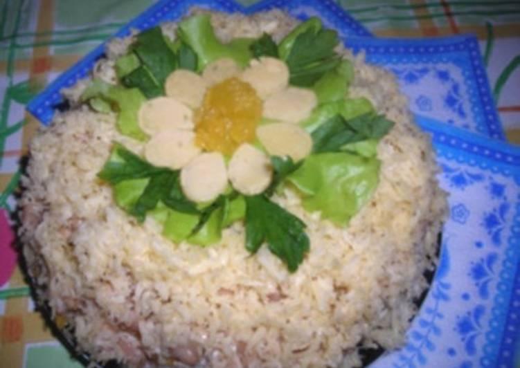 Салат с апельсином и курицей «Viva Brasil»