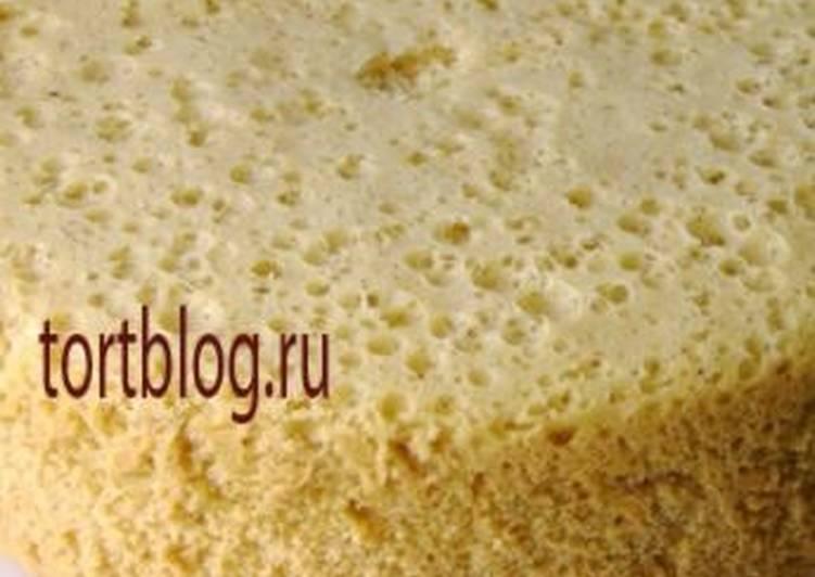 рецепт с фото бисквит в алюминевой кастрюле