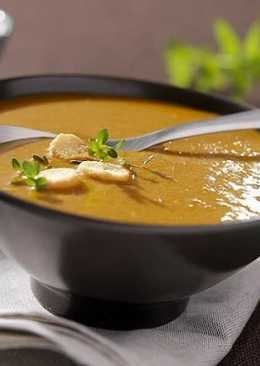 Суп по-чешски с имбирем и светлым пивом