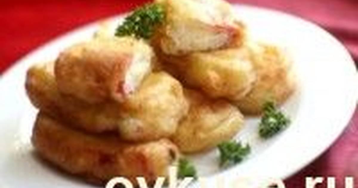 крабовые палочки в кляре простой рецепт с сыром с фото