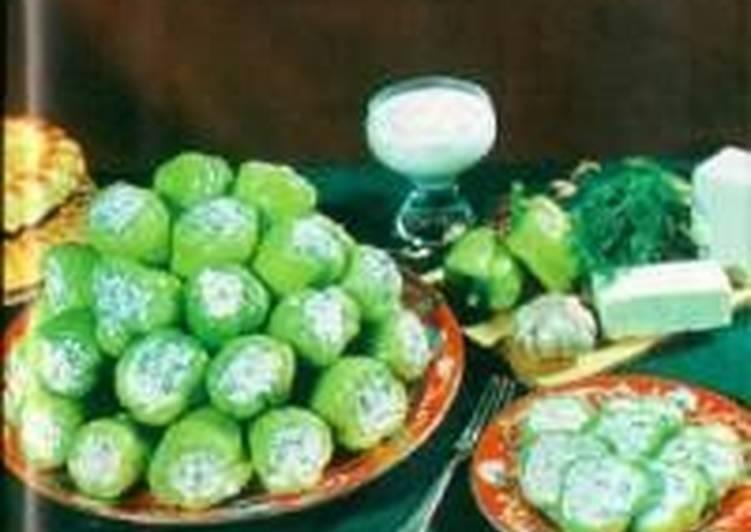 Фаршированный перец салатом