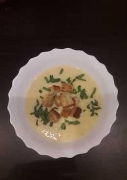 Горохово-сырный суп-пюре