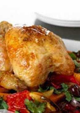 Ароматный цыпленок по-гречески