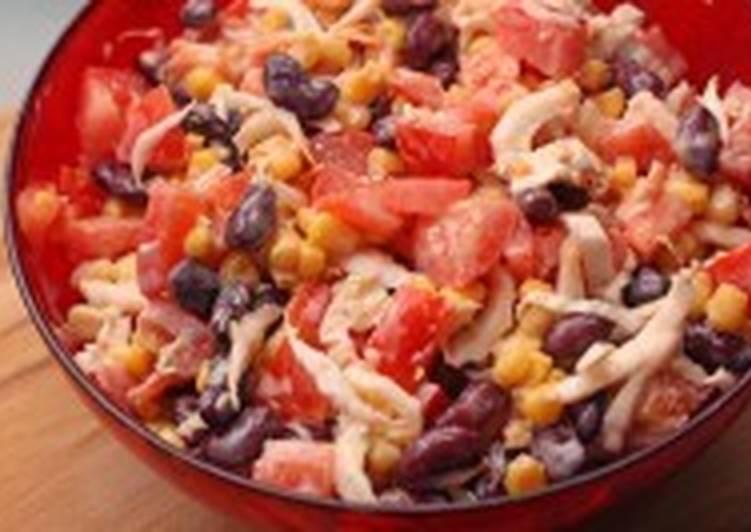 Салат овощной с китайской капустой и кетчупом
