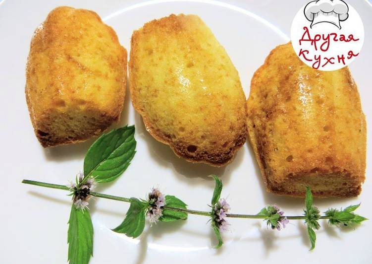 Французское печенье Мадлен. Готовим сами