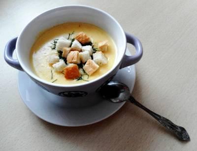 Нежнейший французский сырный суп пюре. #чемпионатмира #франция