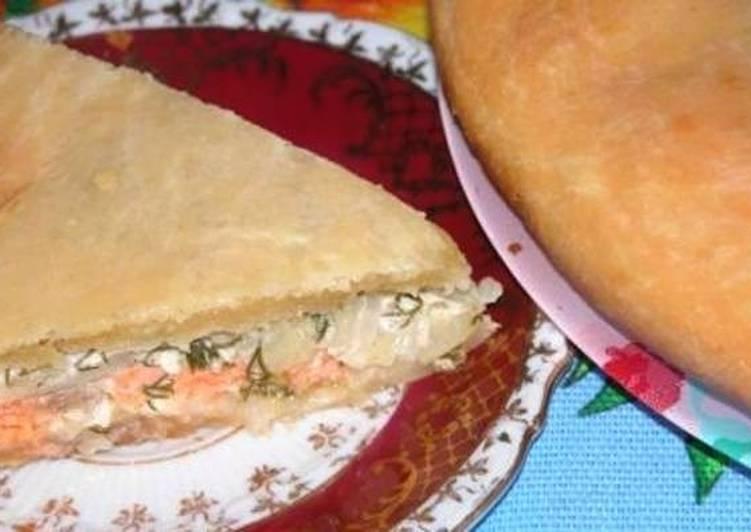 Универсальный рыбный пирог