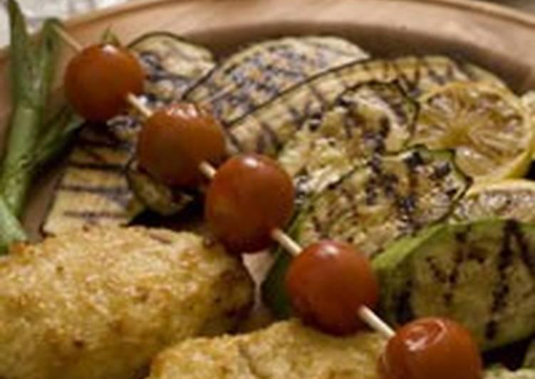 Грудка индейки под сырным соусом