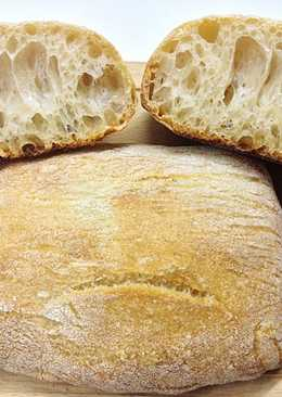 Ciabatta (Чьабатта) Итальянский хлеб