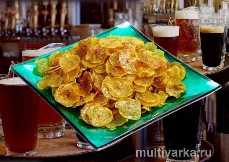 Хрустящий картофель к пиву