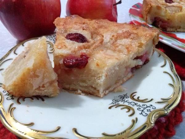 Пирог с Вишней и Яблоком. Домашний простой рецепт
