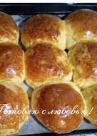 Сдобные булочки по ГОСТу CCCР # кулинарный марафон