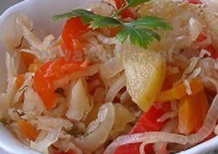 Украинский салат-заготовка