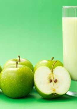 Коктейль Зеленое яблоко