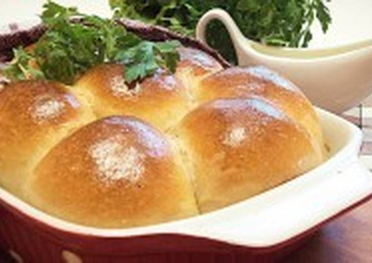 Булочки с творожным сыром и мясом
