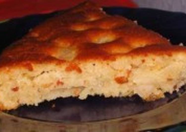 Грушево-медовый постный пирог