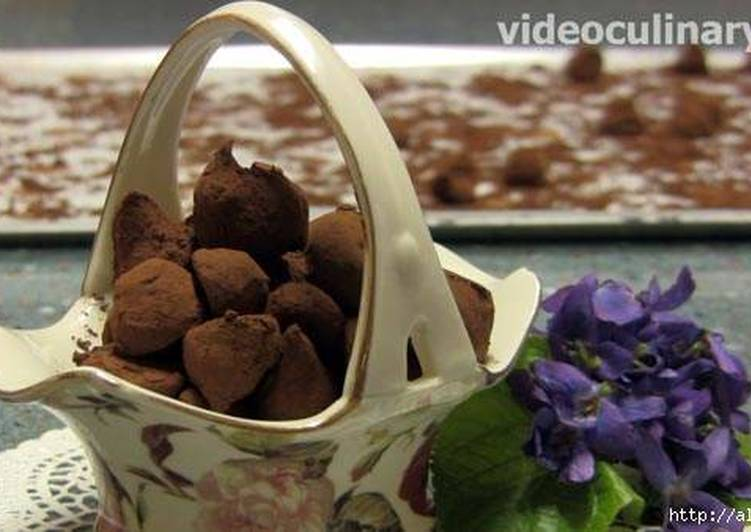 """Шоколадные трюфели """"любимые"""""""