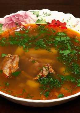Вкусный и полезный суп из чечевицы