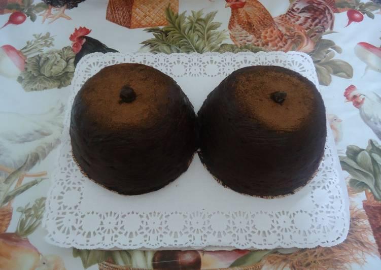 """Торт """"Груди негритянки"""""""