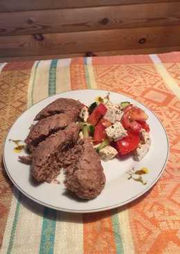 Люля-кебаб из говядины и индейки👍